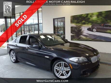 2012 BMW 5 Series 550i Raleigh NC