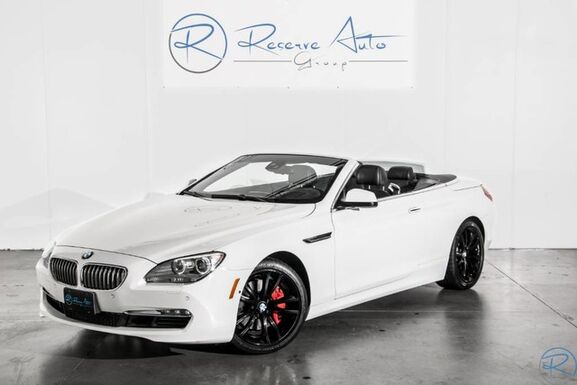 2012_BMW_6 Series_650i Convertible Driver Asst Pkg Prem Sound Pkg_ The Colony TX