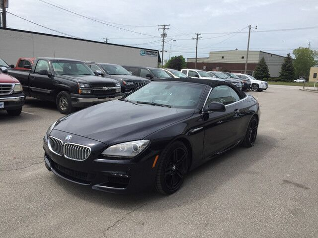2012 BMW 6 Series 650i Convertible xDrive AWD Cleveland OH
