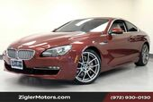 2012 BMW 6 Series 650i Coupe 34kmi Clean Carfax Heads-Up Panoramic Roof