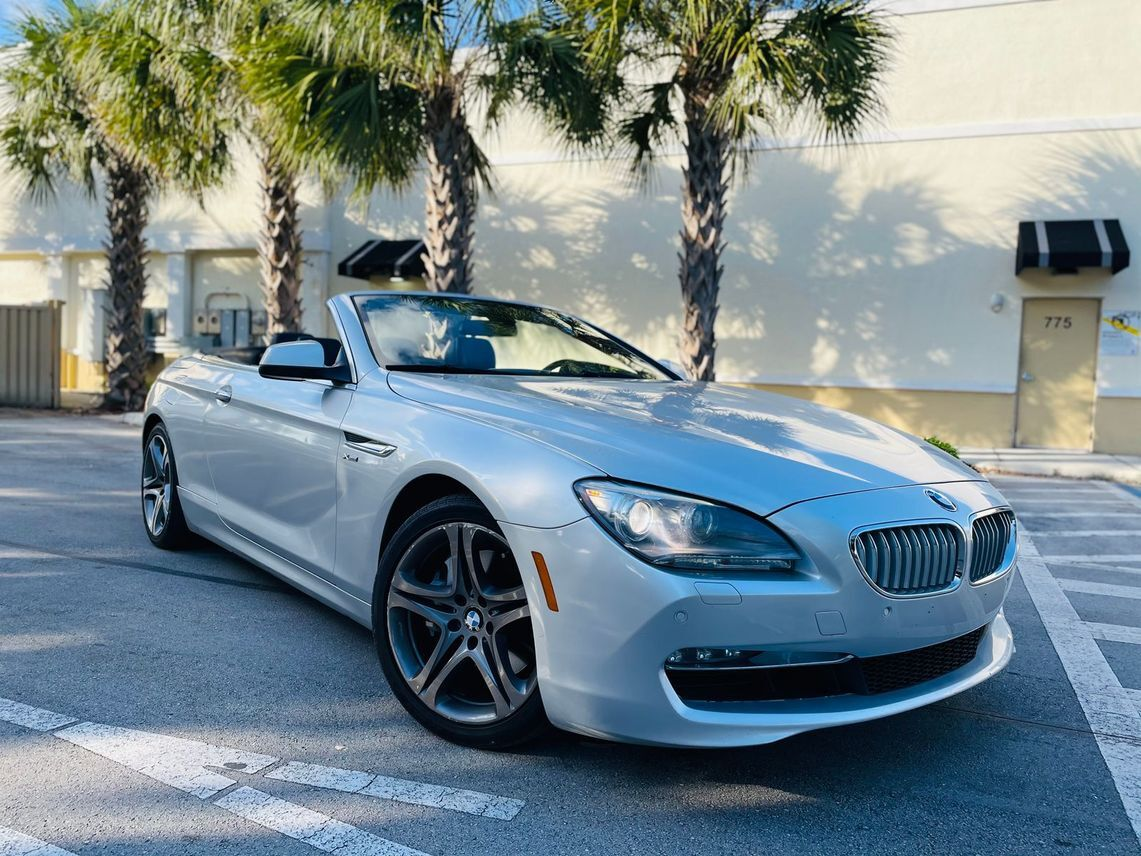 2012 BMW 6 Series 650i xDrive Convertible 2D
