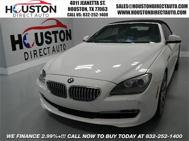 2012 BMW 6 Series 650i Houston TX