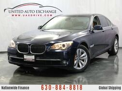 2012_BMW_7 Series_740i 3.0L V6 Engine 315hp RWD w/ Navigation, Sunroof, Push Start_ Addison IL