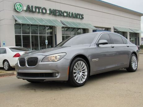 2012 BMW 7-Series 750Li ***Luxury Seating Package*** 4.8L 8CYL AUTOMATIC, LEATHER, NAVIGATION, SUNROOF, BACKUP CAMERA Plano TX