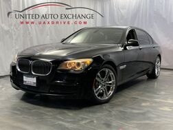 2012_BMW_7 Series_750Li / M-Sport Package / RWD / Navigation / Sunroof / Parking Sensors with Rear View Camera / Rear Entertainment / Push Start / Bluetooth_ Addison IL