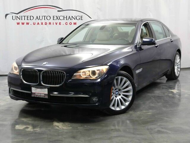 2012 BMW 7 Series 750Li xDrive / 4.4L 400hp V8 Engine / AWD / Navigation / Sunroof Addison IL