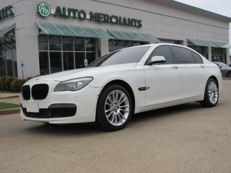 2012 BMW 7-Series 750Li xDrive *M Sport Package, Luxury Seating Package, Driver Assistance Package, Sport Package* Plano TX
