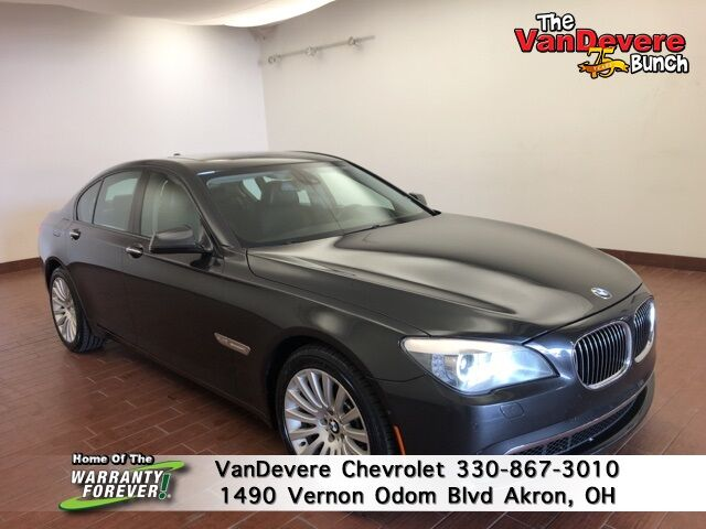 2012 BMW 7 Series 750i xDrive Akron