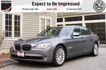 2012_BMW_750i_xDrive_ Boxborough MA