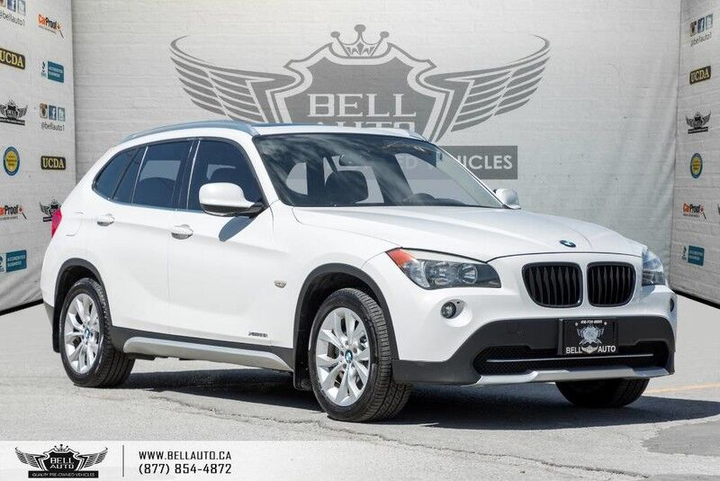 2012 BMW X1 28i, AWD, PANO ROOF, BLUETOOTH, LEATHER, HEATED SEATS