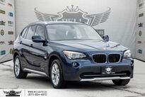 BMW X1 28i, PANO ROOF, PUSH START, A/C, HEATED SEATS, USB 2012