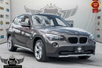 BMW X1 TECH PKG NAVIGATION PAN SUNROOF LEATHER AWD 2012