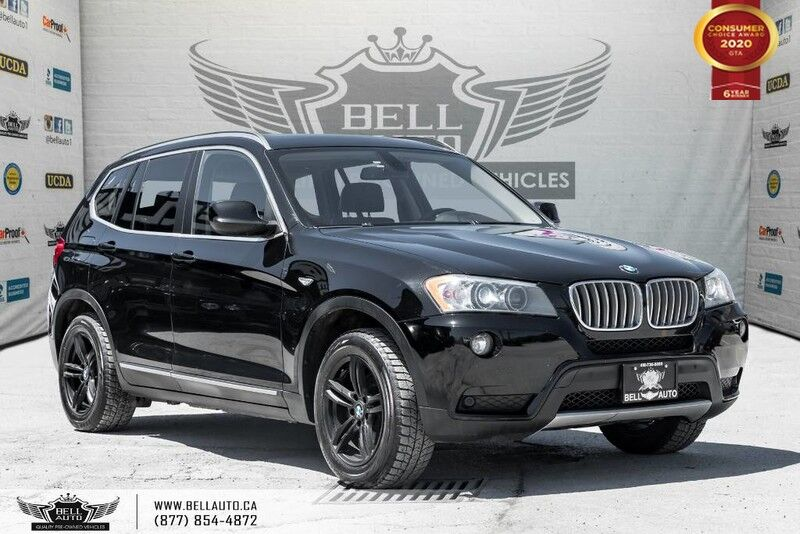 2012 BMW X3 28i, AWD, SENSORS, PANO ROOF, DRIVE ASST, PUSH START