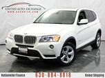 2012 BMW X3 28i W/ 3.0L 6 Cylinder Engine, Push Start Button, Navigation, Front and Rear Parking Aid with Rear View Camera, Bluetooth Audio