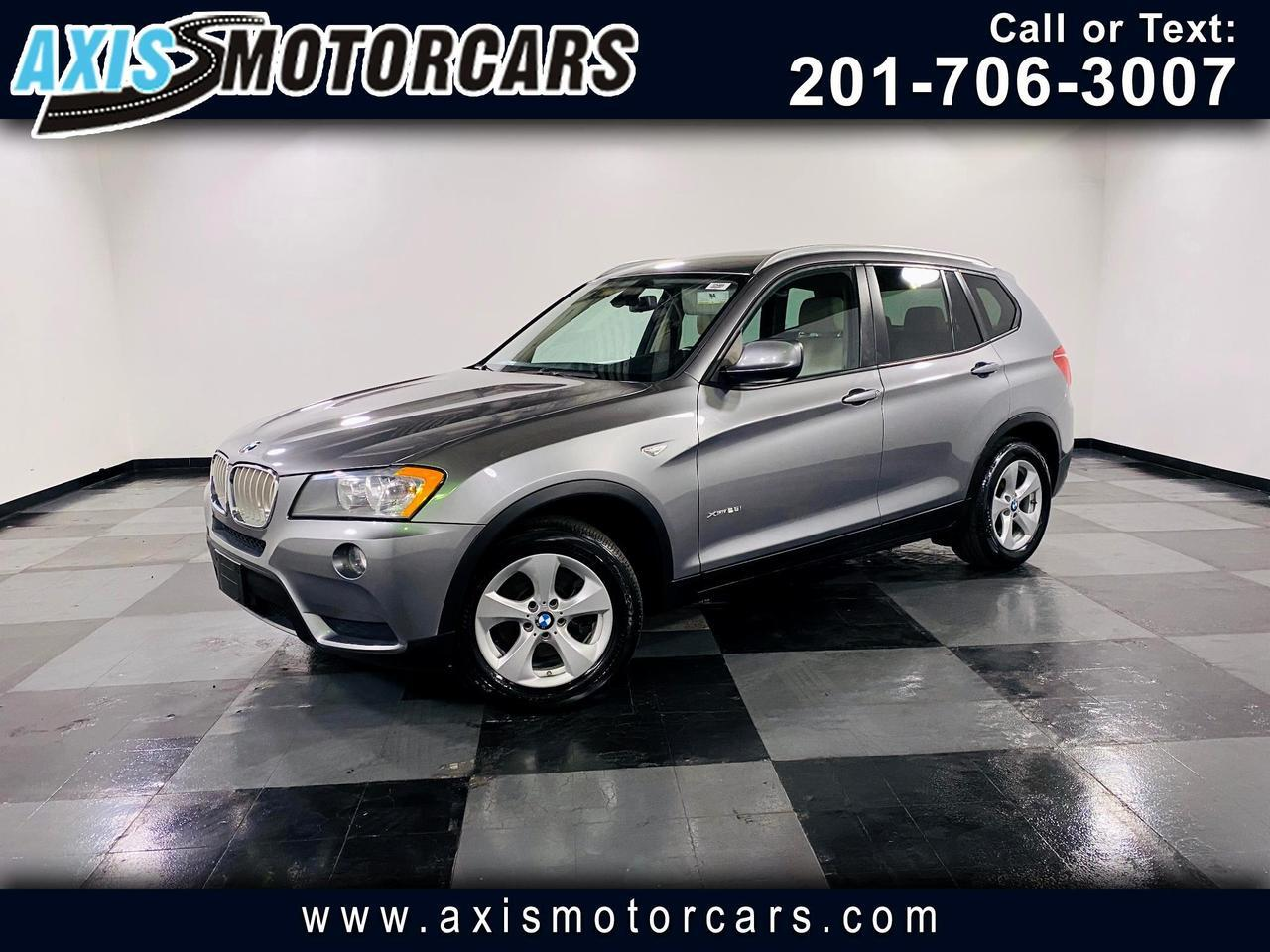2012 BMW X3 xDrive28i w/Panoramic Roof Jersey City NJ
