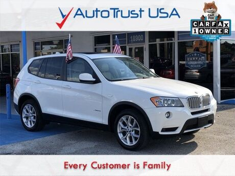 2012 BMW X3 xDrive35i Miami FL