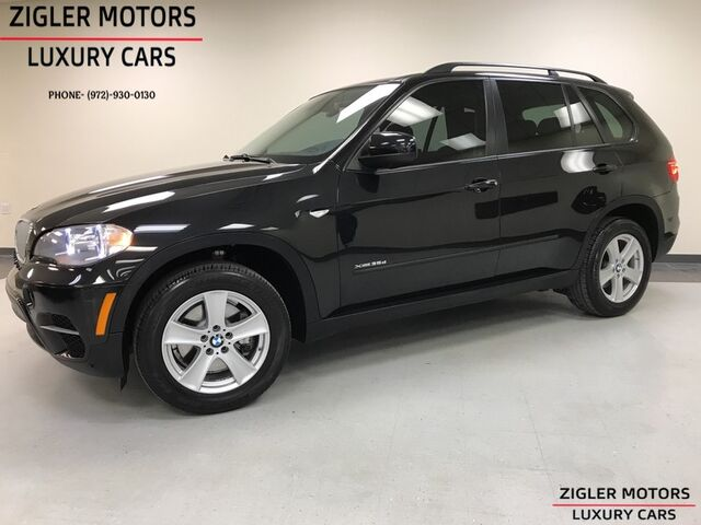 2012 BMW X5 35d DIESEL Sport Prior CPO Navigation Backup Camera Panoramic Roof Addison TX