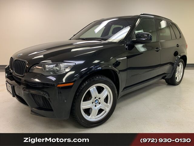 2012 BMW X5 M Panoramic Roof Carbon Fiber Heads-Up Side view camera Addison TX