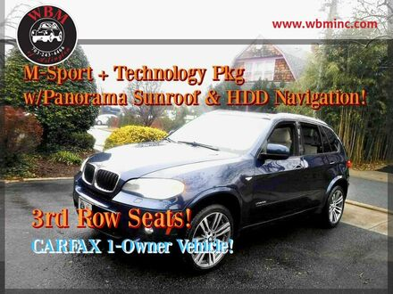 2012_BMW_X5_w/ M-Sport & Technology Pkg_ Arlington VA