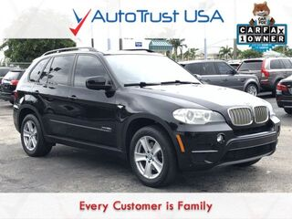 BMW X5 xDrive35d 1 OWNER NAV PANO ROOF PREM PKG LOW MILES FULLY LOA 2012