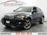 2012 BMW X6 4.4L V8 Engine AWD xDrive 50i w/ Navigation, Sunroof, Front and