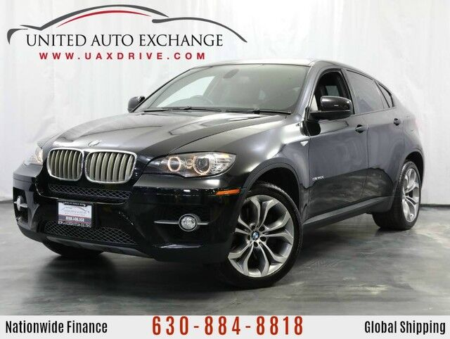 2012 BMW X6 4.4L V8 Engine AWD xDrive 50i w/ Navigation, Sunroof, Front and Rear Parking Aid with Rear View Camera Addison IL