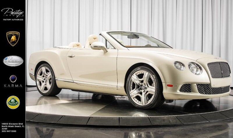 2012_Bentley_Continental GT__ North Miami FL
