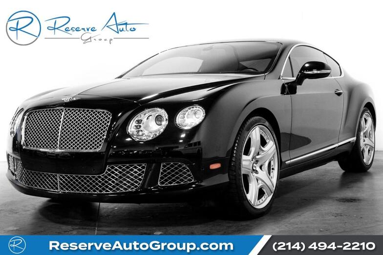 2012 Bentley Continental GT  The Colony TX