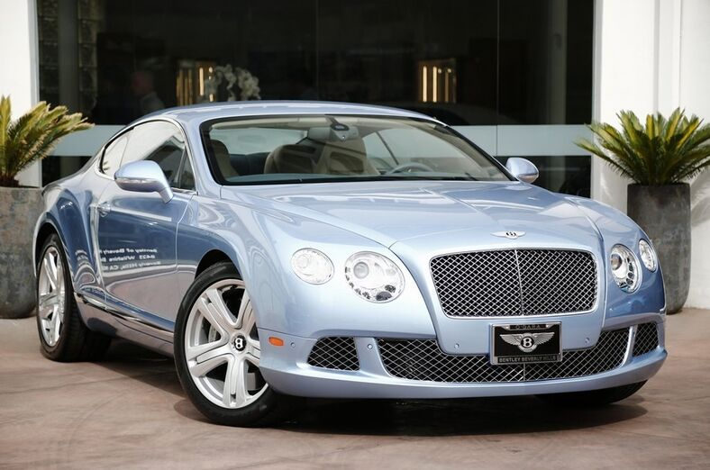 2012 Bentley Continental GT Coupe  Beverly Hills CA