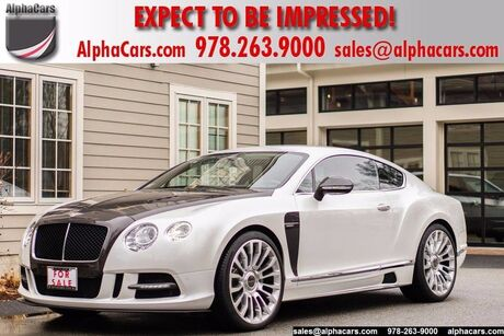 2012 Bentley Continental GT Mansory Boxborough MA