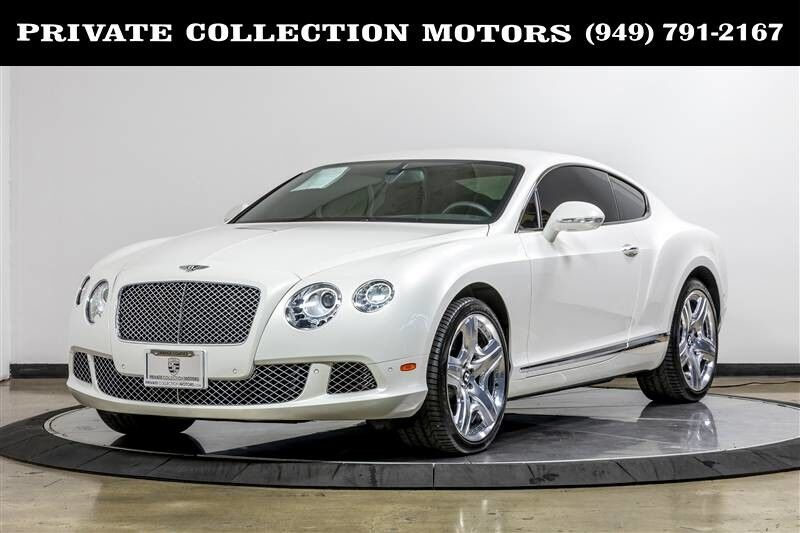 2012 Bentley Continental GT Mulliner 2 Owner Clean Carfax Costa Mesa CA