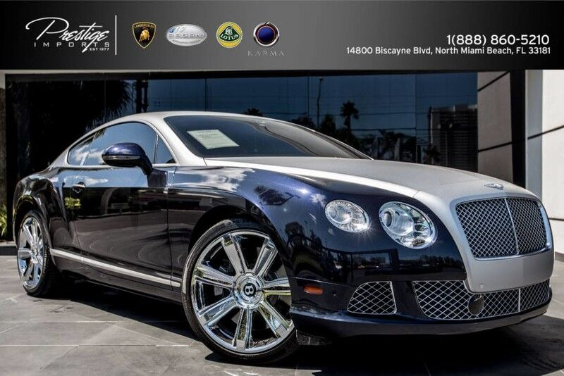 2012_Bentley_Continental GT__ North Miami Beach FL