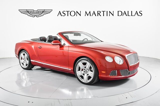 2012 Bentley Continental GTC  Dallas TX
