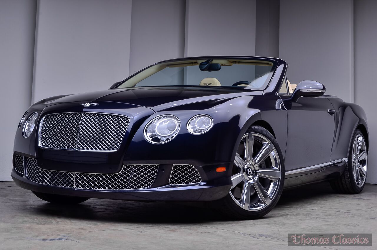 2012 Bentley Continental GTC Convertible Akron OH 22527096