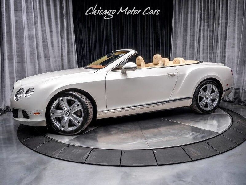 2012_Bentley_Continental GTC_Convertible **MULLINER PACKAGE**_ Chicago IL
