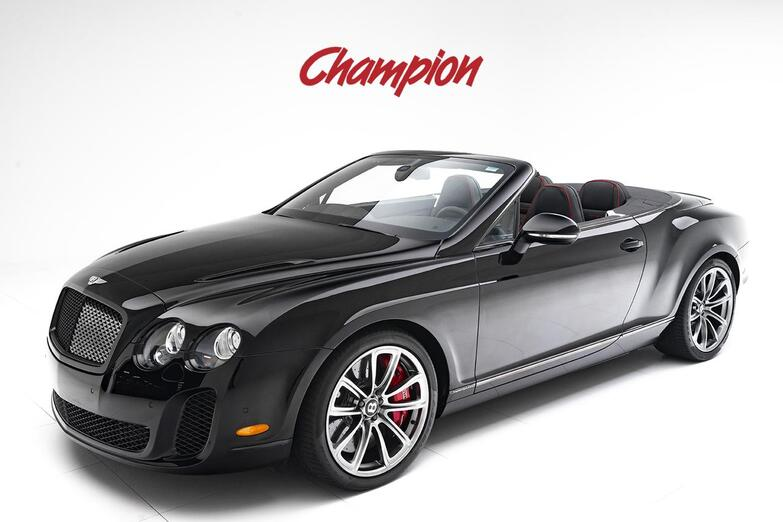 2012 Bentley Continental Supersports Pompano Beach FL
