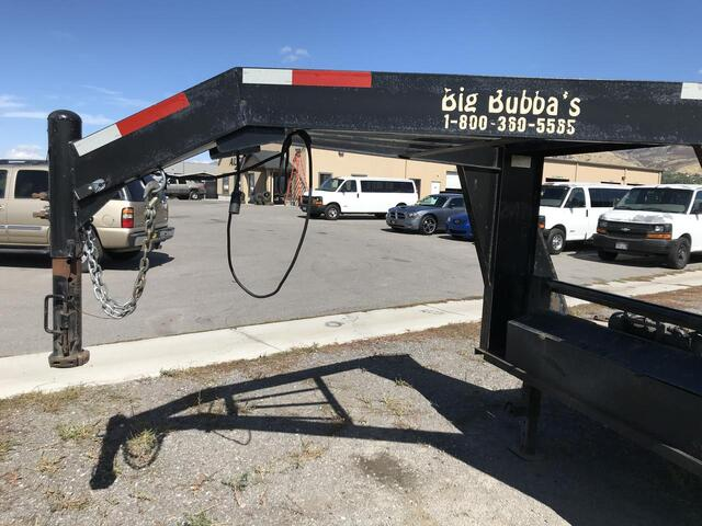 2012 Big Bubba's Gooseneck  North Logan UT