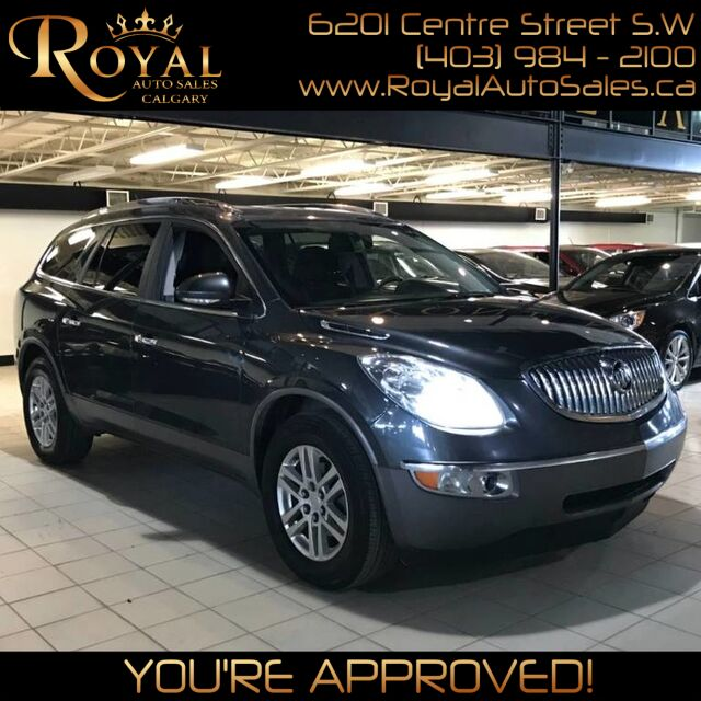 2012_Buick_Enclave_CX w/ BACK UP CAM, BACK UP SENSORS_ Calgary AB