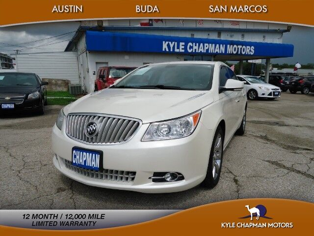 2012 Buick LaCrosse NAV-BLUET-BCKUP CAM-HTD/CL STS