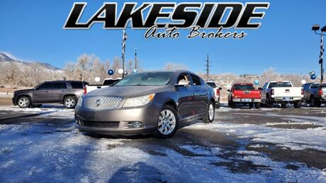 2012 Buick LaCrosse Premium Package 1, w/Leather Colorado Springs CO