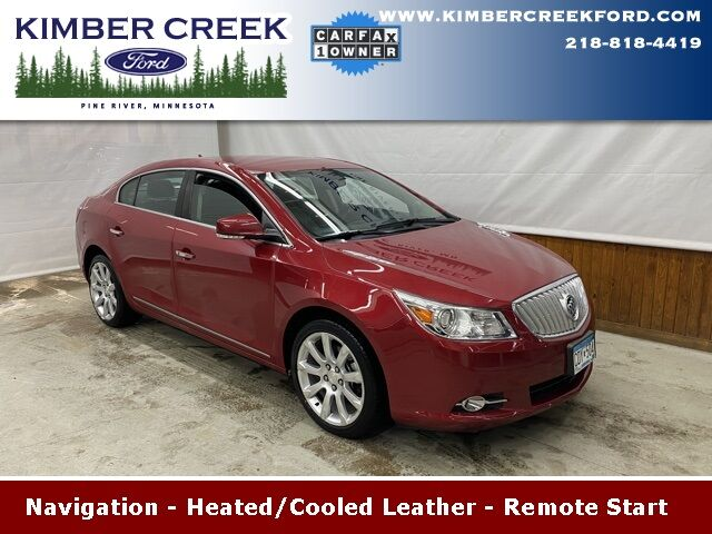 2012 Buick LaCrosse Touring Group Pine River MN