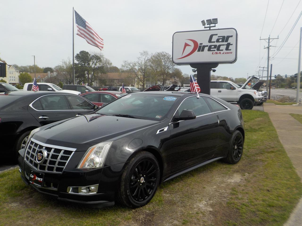 2012 CADILLAC CTS 4 PERFORMANCE AWD COUPE, BACKUP CAMERA, PARKING SENSORS, REMOTE START, ONSTAR, BLUETOOTH, HEATED SEATS Virginia Beach VA