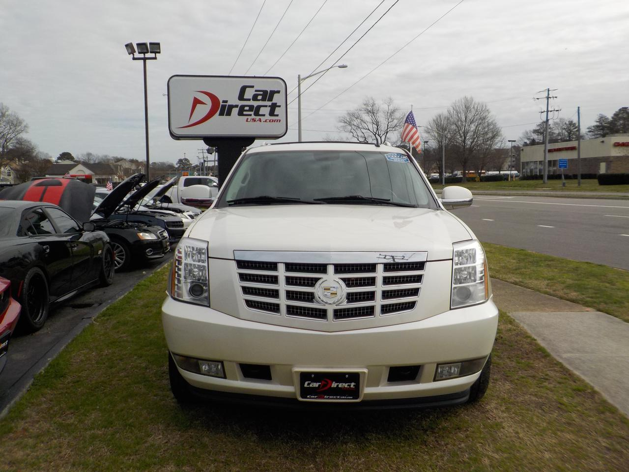 2012 CADILLAC ESCALADE ESV AWD, POWER RUNNING BOARDS, PARKING SENSORS, SUNROOF, NAVIGATION, DVD, 3RD ROW SEATING, TOW! Virginia Beach VA