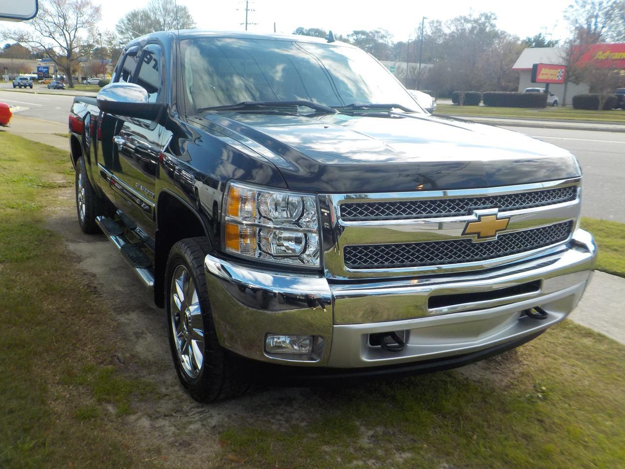2012 CHEVROELT SILVERADO LT 1500 EXTENDED CAB 4X4, TOW PACKAGE, REMOTE START, BED LINER, SUPER CLEAN! Virginia Beach VA