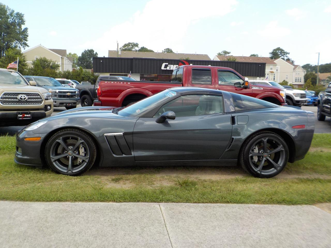 2012 CHEVROLET CORVETTE GRAND SPORT 3LT, LEATHER, HEATED SEATS, SUNROOF, BOSE SOUND, LOW MILES, CLEAN CARFAX! Virginia Beach VA
