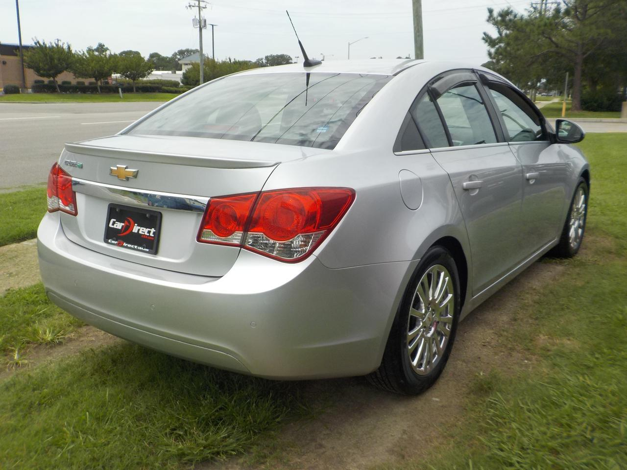 2012 CHEVROLET CRUZE ECO, FRONT & REAR AIRBAGS, CLIMATE CONTROL, TILT & TELESCOPING STEERING WHEEL, REMOTE START!! Virginia Beach VA