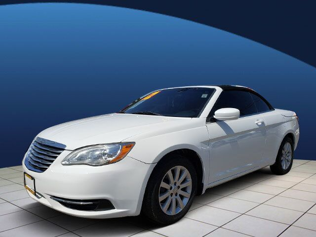 2012 CHRYSLER 200 TOURING 2DR CONVERTIBLE
