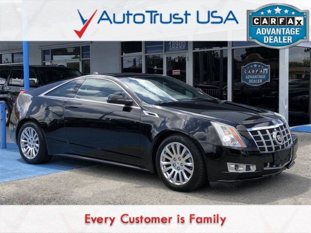 2012 Cadillac CTS Coupe Performance Miami FL