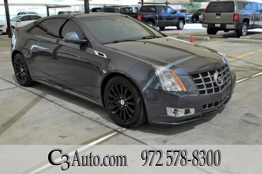 2012 Cadillac CTS Coupe Performance Plano TX