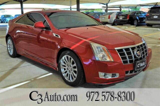 2012 Cadillac CTS Coupe Performance W/Navigation Plano TX